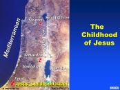 Area Location where Jesus spent His childhood