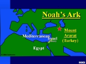 Area of Noah's Ark