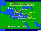 Paul's 3rd Missionary Journey