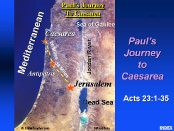 Paul's Journey to Caesarea