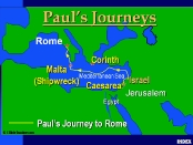 Paul's Journy to Rome