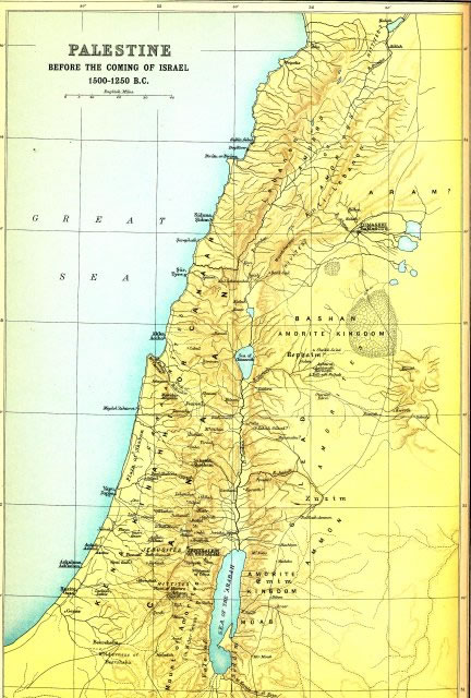 Bible maps and atlas online bible world palestine before the coming of israel gumiabroncs Choice Image