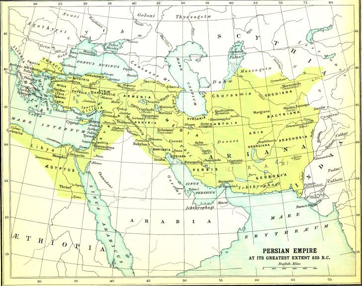 Bible maps and atlas online bible world persian empire 525bc gumiabroncs Gallery
